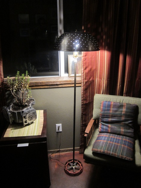 It's hard to photograph a floor lamp and make it look good.