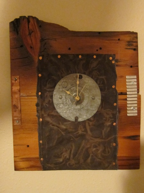 Tried my hand at making a clock. It was more difficult than I thought it would be.