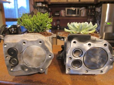Engine Block Planters